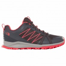 ZAPATILLAS THE NORTH FACE W LITEWAVE FASTPACK II GRIS/ROSA