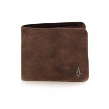 CARTERA VOLCOM 3IN1 MARRON