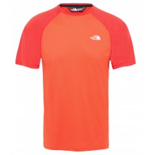 CAMISETA THE NORTH FACE TANKEN RAGLAN ROJO