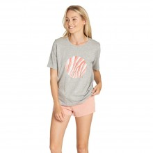 CAMISETA W ELEMENT WATER CIRCLE CR GRIS