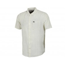 CAMISA RVCA GAUZE DOT SS NATURAL