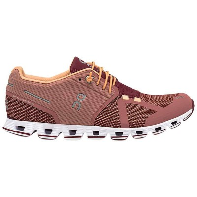 ZAPATILLA MUJER ON RUNNING CLOUD DUSTROSE/MULBERRY