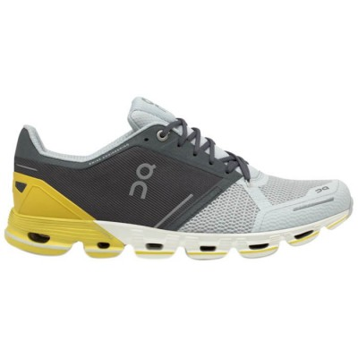 ZAPATILLAS ON RUNNING CLOUDFLYER GREY LIME