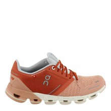 ZAPATILLAS ON RUNNING MUJER CLOUDFLYER GINGER WHITE
