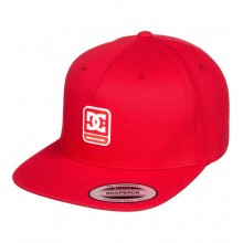 GORRA DC SHOES SNAPDRAGGER ROJO