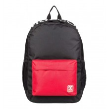 MOCHILA DC SHOES BACKSIDER CB NEGRO/ROJO