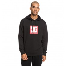 SUDADERA DC SHOES SQUARE STAR PH NEGRO