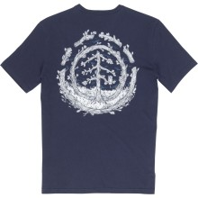 CAMISETA ELEMENT TOO LATE LOGO