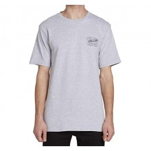 CAMISETA VOLCOM ROAD TEST GRIS