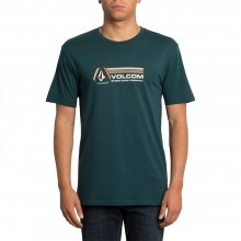 CAMISETA VOLCOM DESCENT VERDE