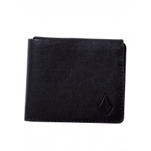CARTERA VOLCOM 3FOLD LEATHER NEGRO