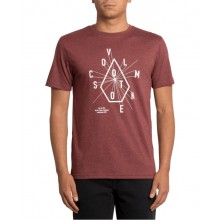 CAMISETA VOLCOM EYECHART GRANATE