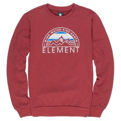 SUDADERA ELEMENT PORT ODYSSEY CR GRANATE