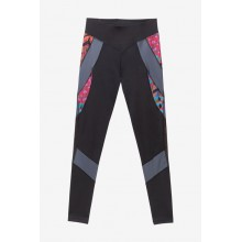 LEGGING DESIGUAL BLOCKING PATCH