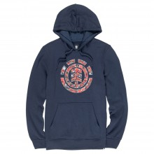 SUDADERA ELEMENT MULTI ICON HD AZUL