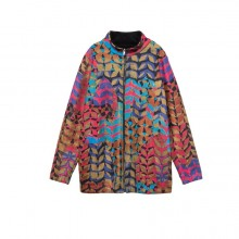 CHAQUETA DESIGUAL POCKETS MULTICOLOR