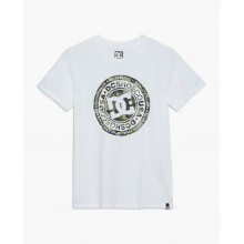 CAMISETA DC SHOES CIRCLE STAR SS 2 BLANCO
