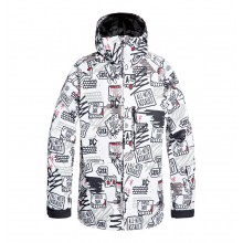 CHAQUETA NIEVE DC SHOES RETROSPECT BLANCO