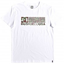 CAMISETA DC SHOES TRESTNA SS BLANCO
