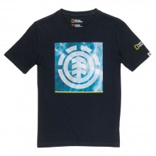 CAMISETA ELEMENT SOLVENT ICON NEGRO