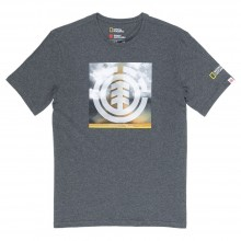 CAMISETA ELEMENT COMBUST ICON GRIS
