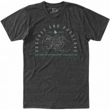 CAMISETA HIPPYTREE FOCAL GRIS