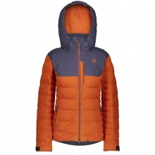 CHAQUETA W SCOTT ULTIMATE DOWN NARANJA