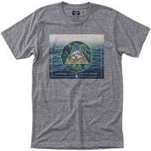 CAMISETA HIPPYTREE VERTEX GRIS