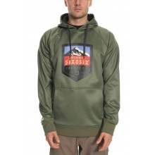 SUDADERA 686 KNOCKOUT BONDED FLEECE VERDE