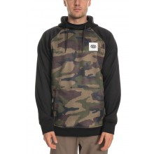 SUDADERA 686 KNOCKOUT BONDED FLEECE CAMO