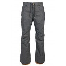PANTALON NIEVE 686 STRETCH REBEL GRIS
