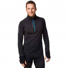 CAMISETA RAIDLIGHT WINTERTRAIL LS NEGRO/AZUL