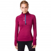 CAMISETA W RAIDLIGHT WINTERTRAIL GARNET