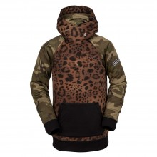 SUDADERA VOLCOM HIDRO RIDING CHEETAH