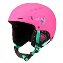 CASCO ESQUI NIÑOS BOLLE QUIZ ROSA FLASH