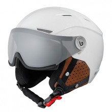 CASCO BOLLÉ BACKLINE VISOR PREMIUM GALAXY BLANCO