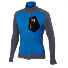 CHAQUETA KARPOS ODLE FLEECE BLUETTE/DARK GREY