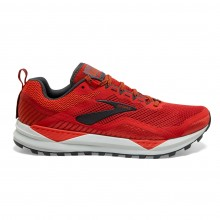ZAPATILLAS BROOKS CASCADIA 14 RED/EBONY/GREY