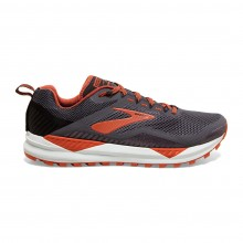 ZAPATILLAS BROOKS CASCADIA 14 BLACK/GREY/OCHRE