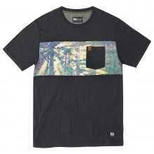 CAMISETA HIPPYTREE BACKWOODS KNIT BLACK