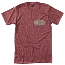 CAMISETA HIPPYTREE DAYBREAK HEATHER RUST