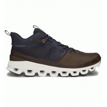 ZAPATILLAS ON RUNNING CLOUD HI INK BROWN