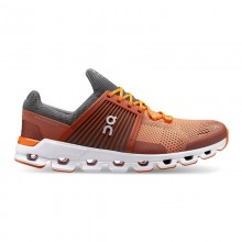 ZAPATILLAS ON RUNNING CLOUDSWIFT RUST ROCK