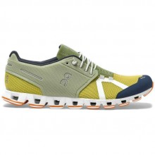 ZAPATILLAS ON RUNNING CLOUD 70/30 LEAF MUSTARD