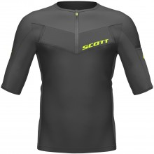 CAMISETA SCOTT MS RC TECH RUN S/SL BLACK/YELLOW