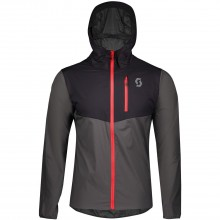 CHAQUETA SCOTT MS TRAIL RUN WB BLACK/DARK GREY