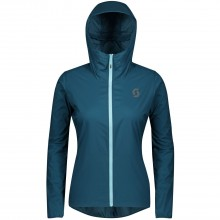 CHAQUETA MUJER SCOTT WS TRAIL RUN WB LUNAR BLUE