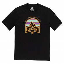 CAMISETA ELEMENT TAGOR NEGRO