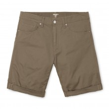 BERMUDAS CARHARTT SWELL LEATHER RINSED