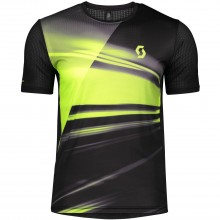 CAMISETA SCOTT MS RC RUN S/SL BLACK/YELLOW